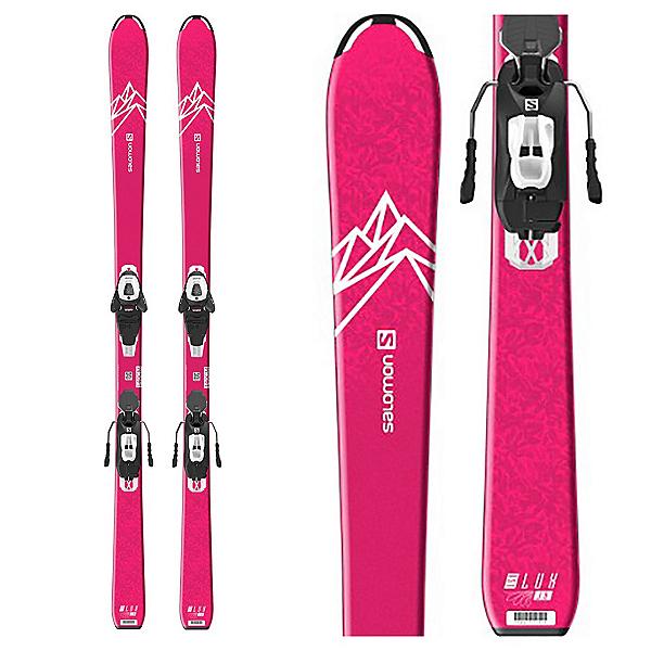 Salomon QST Lux Jr M Kids Skis with L6 GW Bindings 2020, , 600