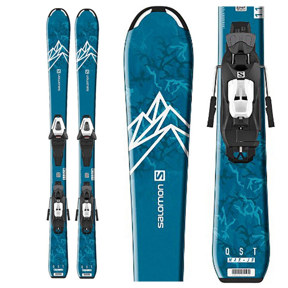 Salomon QST Max Jr S Kids Skis with C5 GW Bindings 2020