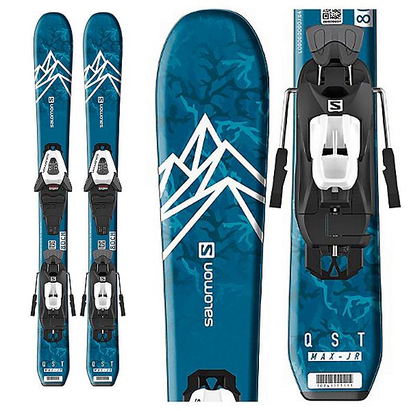 Salomon QST Max Jr XS Kids Skis with C5 GW Bindings, , 600