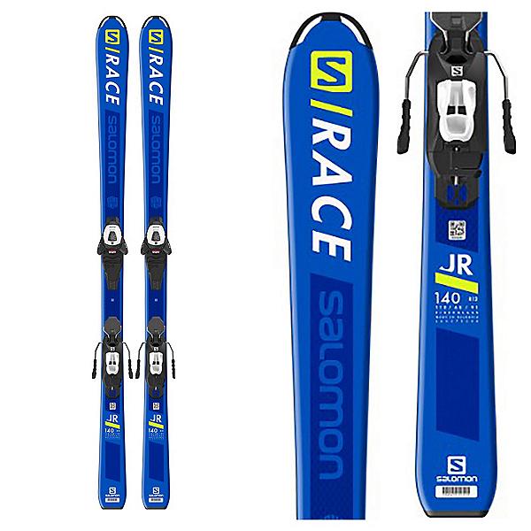 Salomon S/Race Jr M Kids Skis with L6 GW Bindings 2020, , 600