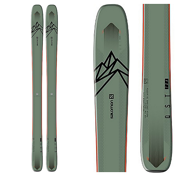 Salomon QST 106 Skis 2020, , 600