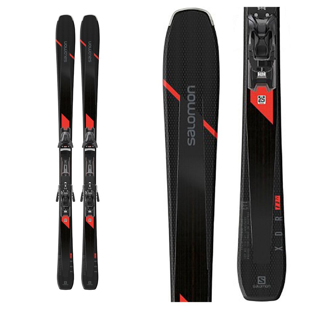 Salomon XDR 80 TI Skis with Z12 GW Bindings 2020
