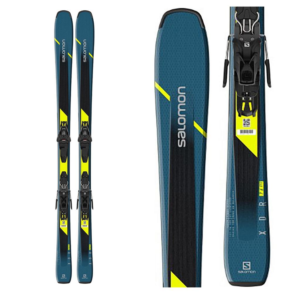 Salomon XDR 76 ST C Skis with L10 GW Bindings 2020
