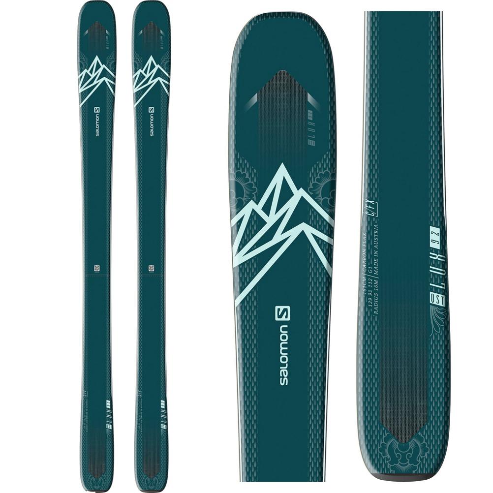 Salomon QST Lux 92 Womens Skis 2020 im test