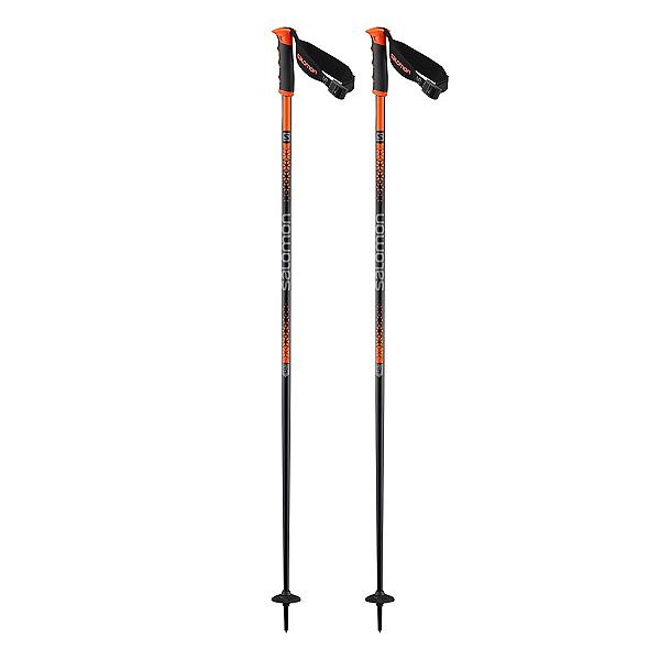 Salomon Arctic S3 Ski Poles 2020, Black-Orange, 600