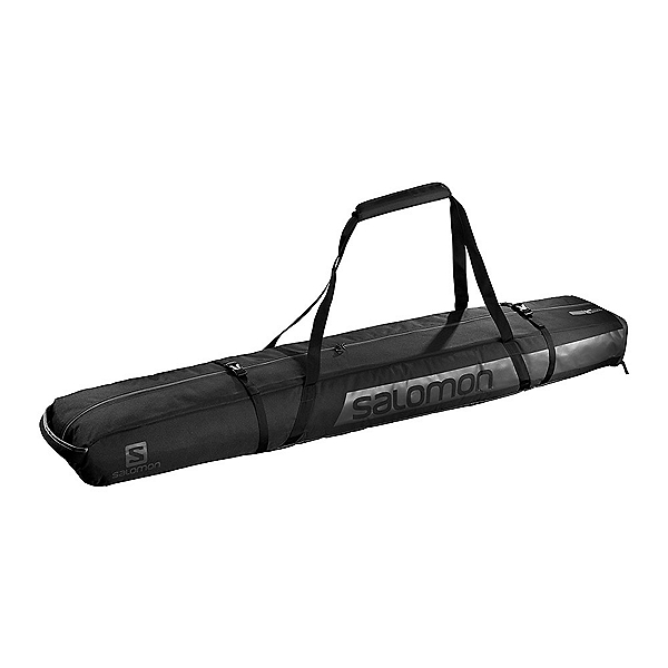 Salomon 2PR +20 Expandable Padded Ski Bag, Black, 600