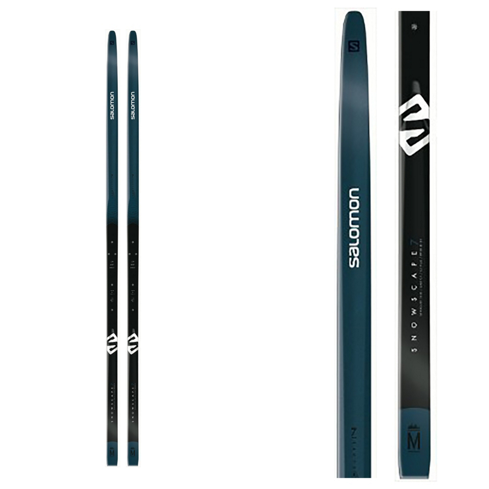 Salomon Snowscape 7 PM PLK Auto Cross Country Skis with Bindings 2020 im test