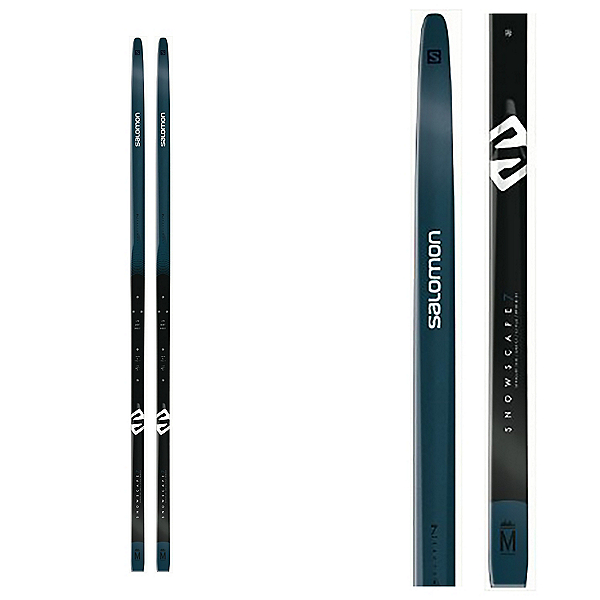 Salomon Snowscape 7 PM PLK Auto Cross Country Skis with Bindings 2020, , 600