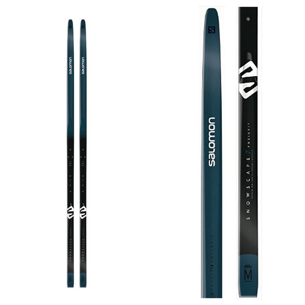 Salomon Snowscape 7 Vitane PM PLK Cross Country Skis with Bindings 2020 im test