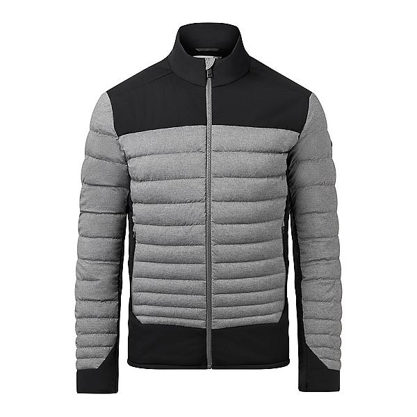 KJUS Blackcomb Stretch Mens Jacket 2020, Steel Grey Melange-Black, 600