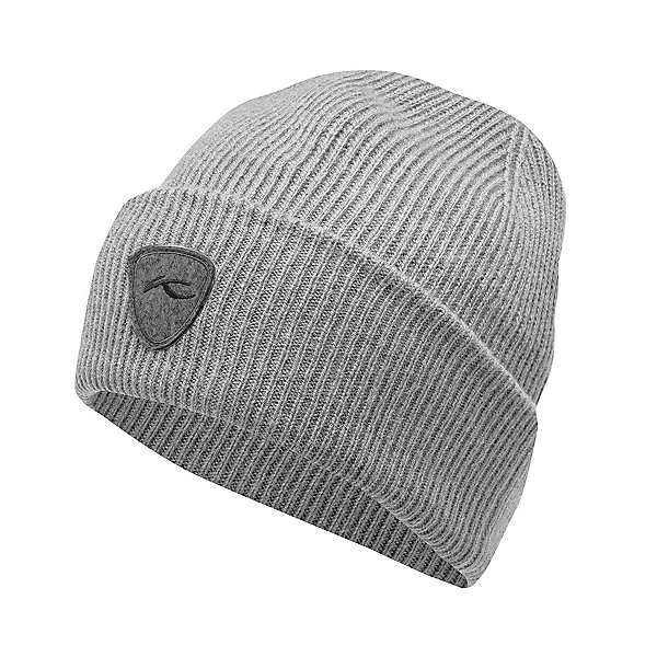 KJUS Truckstop Rib Hat, Steel Grey Melange, 600