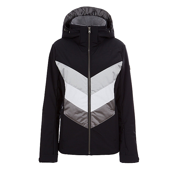 FERA Arya Womens Insulated Ski Jacket 2020, Black-Pewter, 600