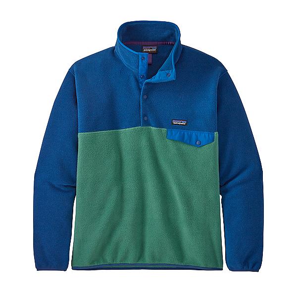 Patagonia Lightweight Synchilla Snap-T Mens Midlayer 2021, Eelgrass Green, 600