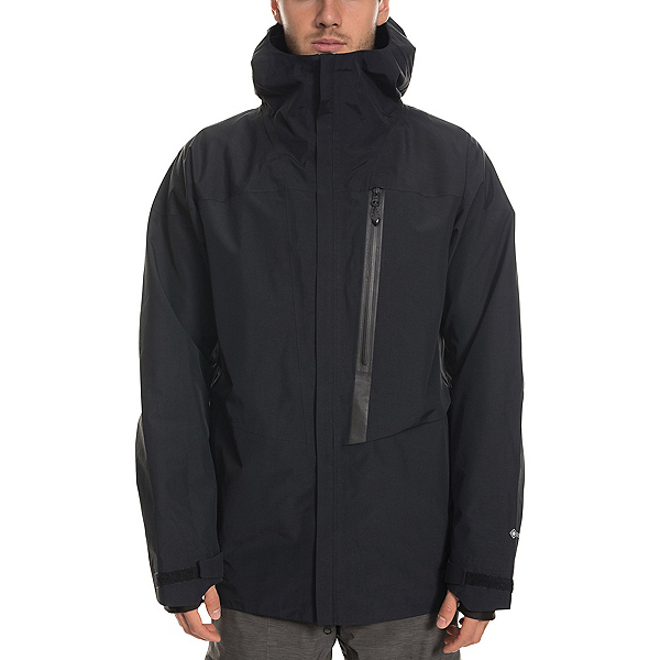 686 GLCR Gore-Tex GT Mens Shell Snowboard Jacket 2020, Black, 600