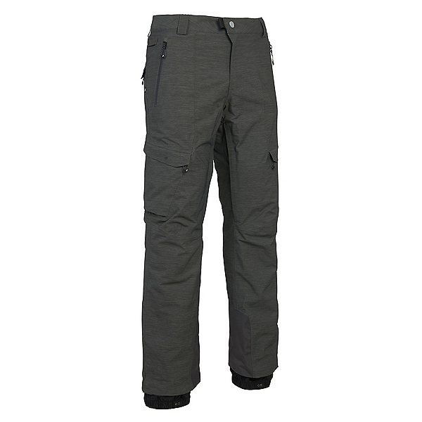 686 GLCR Quantum Thermograph Mens Snowboard Pants, Charcoal Heather, 600