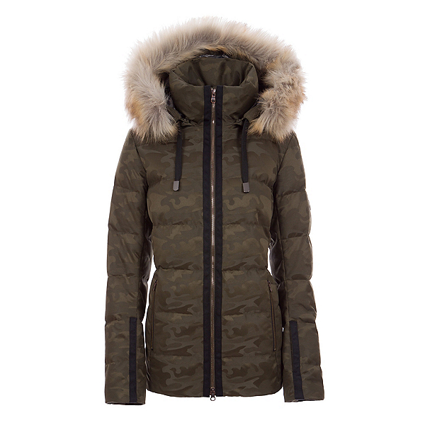 FERA Harper Real Fur Womens Insulated Ski Jacket, , 600