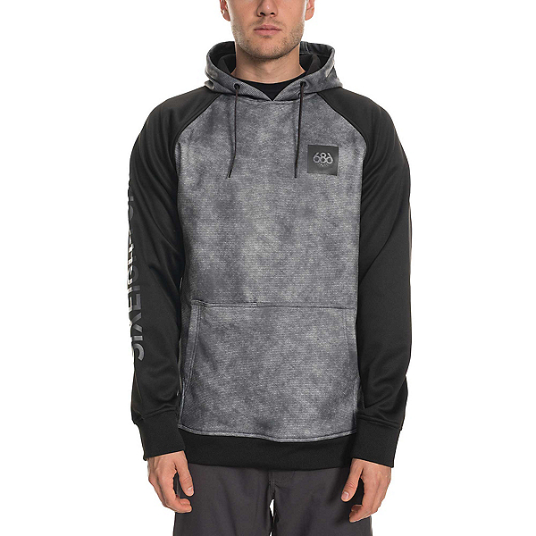 686 Knockout Bonded Fleece Pullover Mens Hoodie, , 600