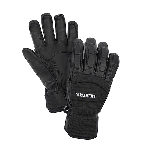 Hestra Vertical Cut Czone 5 Finger Gloves, Black, 600