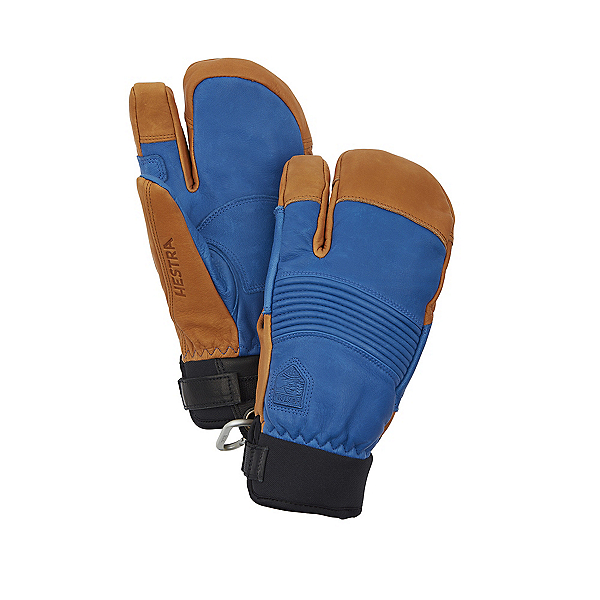 Hestra Freeride Czone 3-Finger Mittens, Royal Blue-Cork, 600