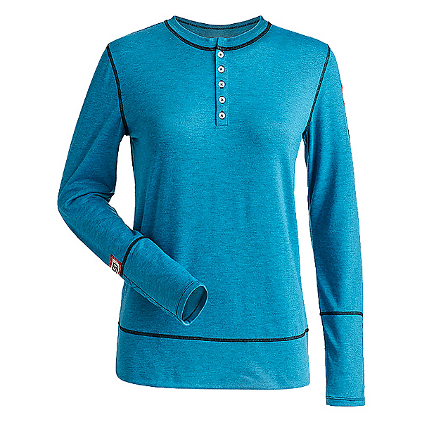 NILS Sharon Womens Long Underwear Top 2020, Teal, 600
