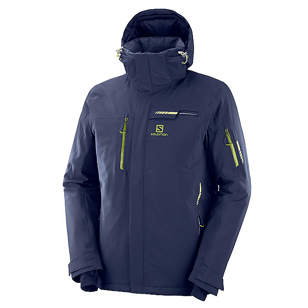 Salomon Brilliant Mens Insulated Ski Jacket 2020, , 600