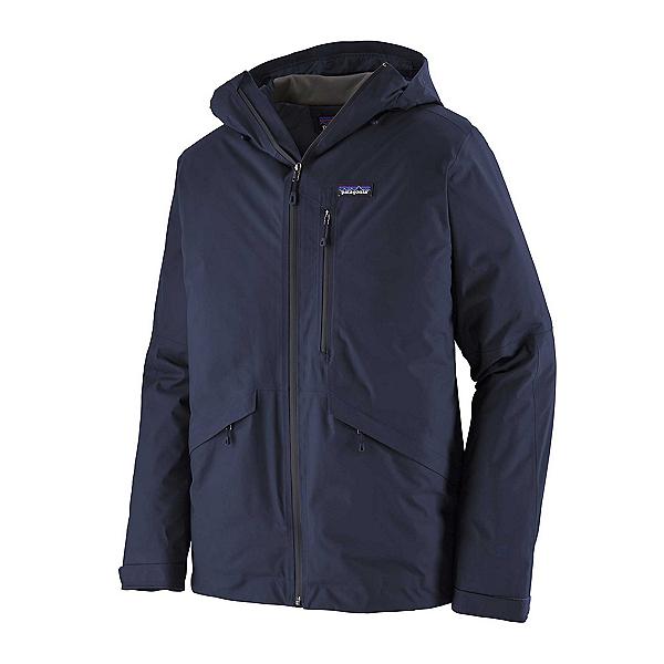 Patagonia Snowshot Mens Insulated Ski Jacket, Classic Navy, 600