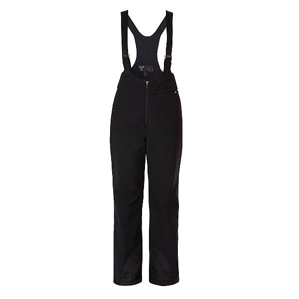 FERA Stowe Stretch Bib Womens Ski Pants, Black, 600