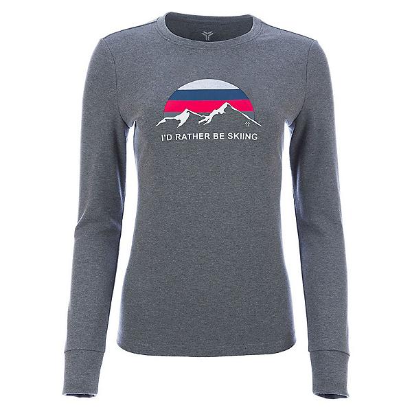 FERA Rather Be Womens T-Shirt 2020, Heather Gray, 600