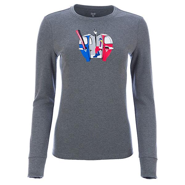 FERA Gondola Womens T-Shirt, Heather Grey, 600