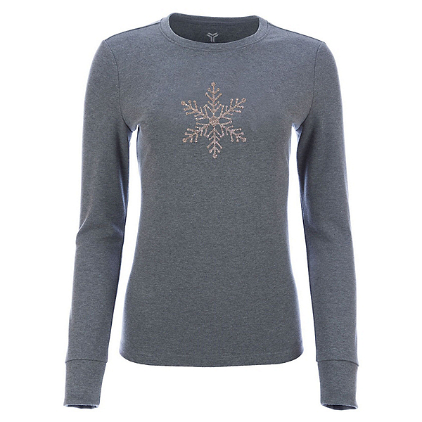 FERA Sparkle Womens T-Shirt, Heather Gray, 600