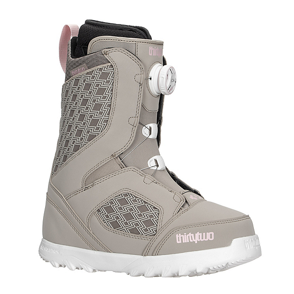 ThirtyTwo STW Boa Womens Boot Womens Snowboard Boots, Tan, 600