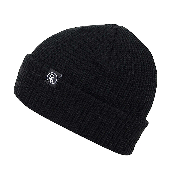 CandyGrind Basic Beanie Hat, Black, 600