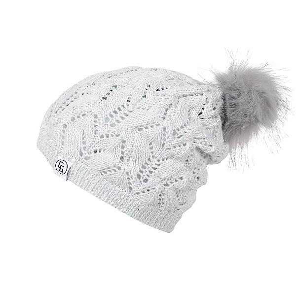 CandyGrind Melanie Beanie Womens Hat 2020, White, 600