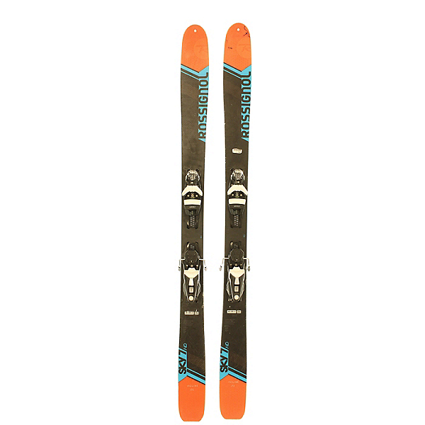 Used 2017 Rossignol Sky 7 HD + Salomon Z12 Bindings (C condition), , 600
