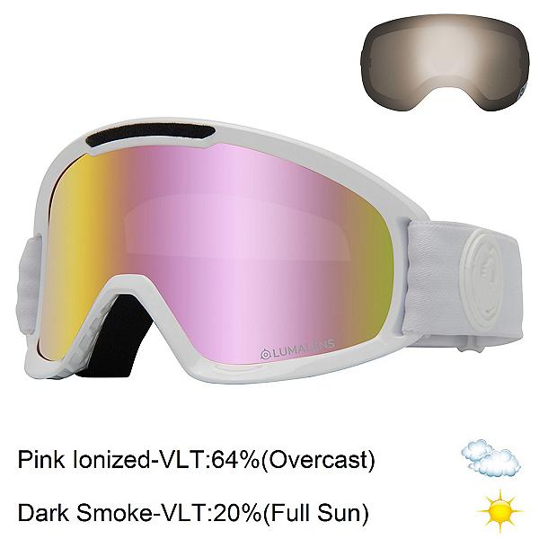 Dragon Dx2 Mens Goggles Ski Skyline//lumalens Blue Ion One Size