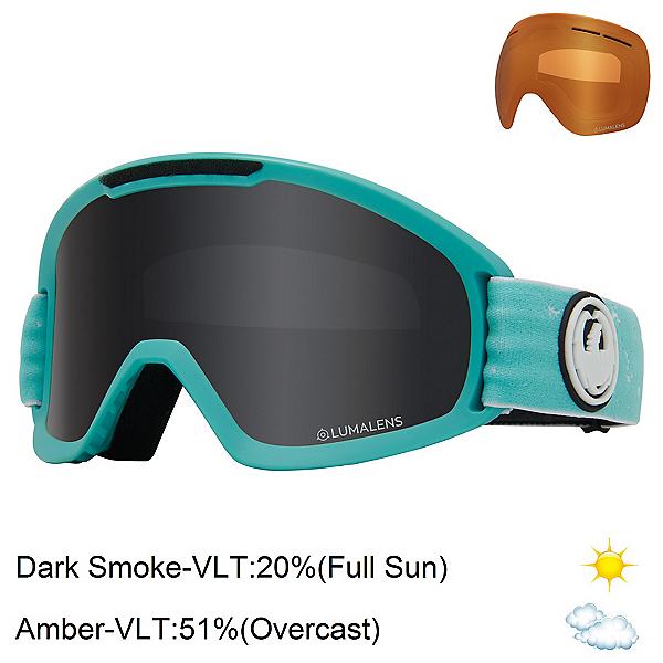 Dragon DX2 Womens Goggles 2020, Elementary-Lumalens Dark Smoke + Bonus Lens, 600