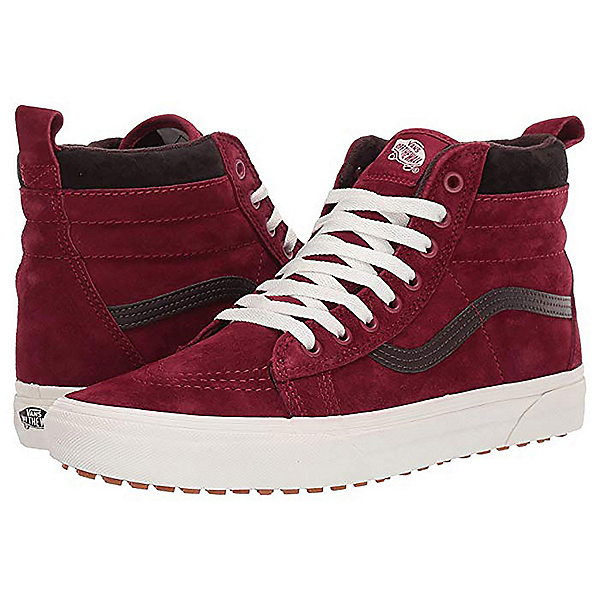 Vans SK8-HI MTE 20 Mens Casual Shoes, Biking Red-Chocolate Torte, 600