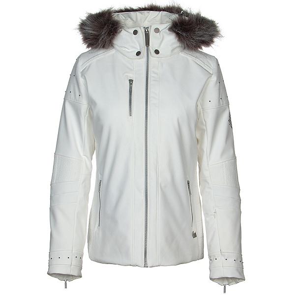 NILS Harper Faux Fur Womens Insulated Ski Jacket 2020, White, 600