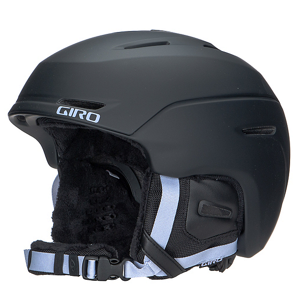 Giro Avera Womens Helmet, Matte Black-Fluff Purple, 600