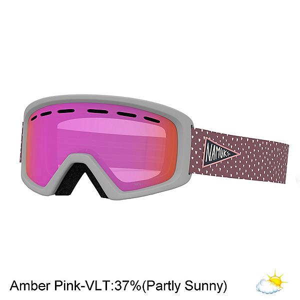 Giro Rev Youth Goggles, Namuk Pink-Amber Pink, 600