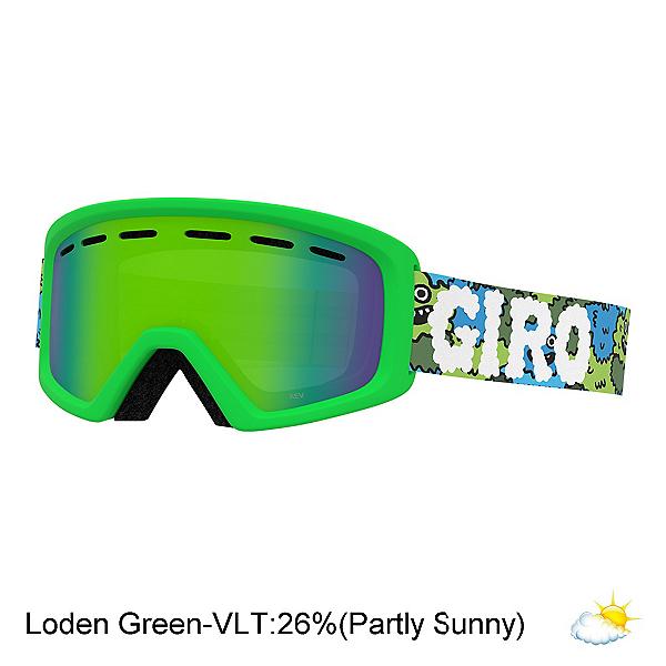 Giro Rev Youth Goggles, Lilnugs-Loden Green, 600