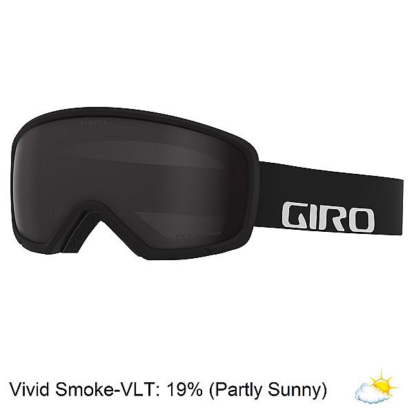 Giro Ringo Goggles, Black Wordmark-Vivid Smoke, 600