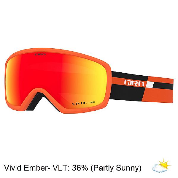 Giro Ringo Goggles, Orange Black Podium-Vivid Embe, 600