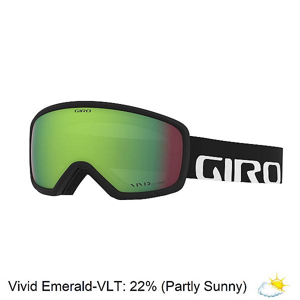 Giro Ringo Goggles, Black Woodmark-Vivid Emerald, 600