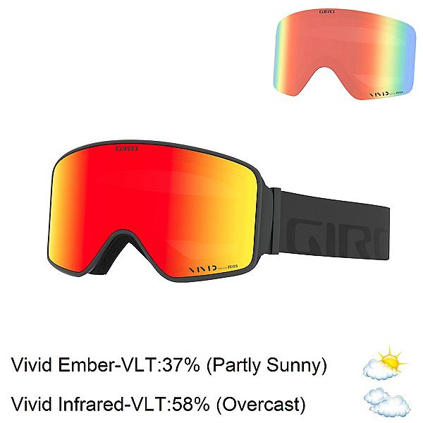 Giro Method Goggles, Grey Woodmark-Vivid Ember + Bonus Lens, 600