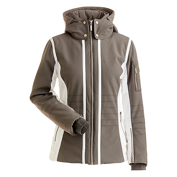 NILS Isabella Womens Insulated Ski Jacket, Pewter-White, 600