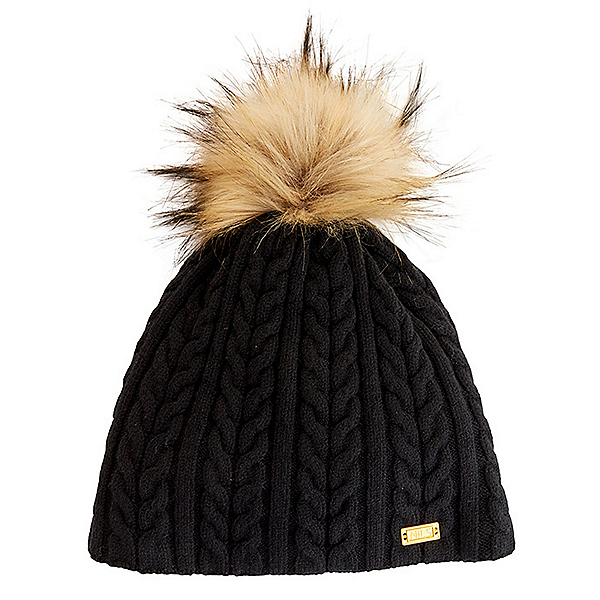NILS Frankie Knit Womens Hat, Black, 600