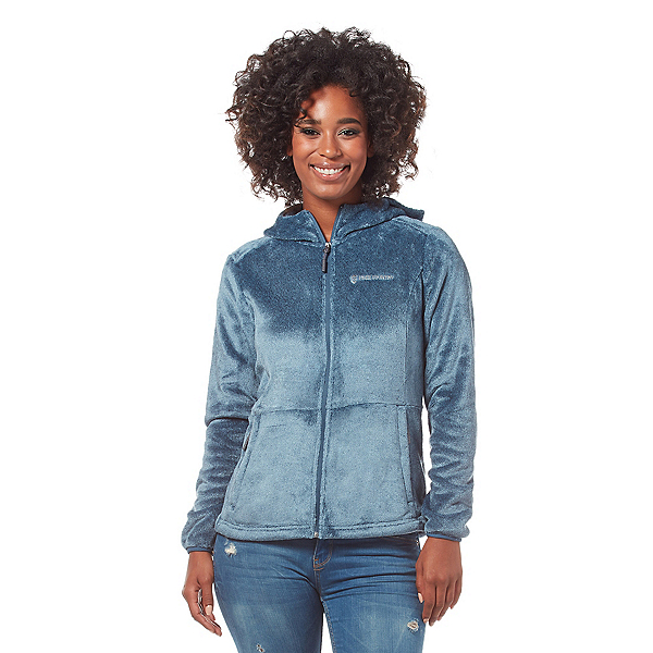Free Country Heather Butterpile Womens Jacket 2020, Agate Blue, 600
