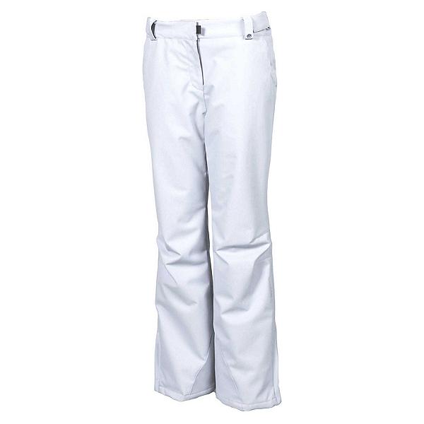 Karbon Pearl Womens Ski Pants, Arctic White, 600