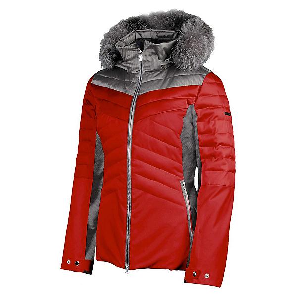 Karbon Ampere Fur Womens Insulated Ski Jacket 2020, , 600